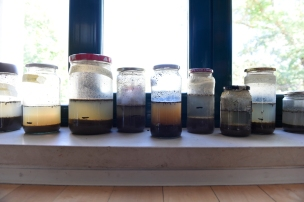 reconociendo la estructura de algunas muestras de suelo